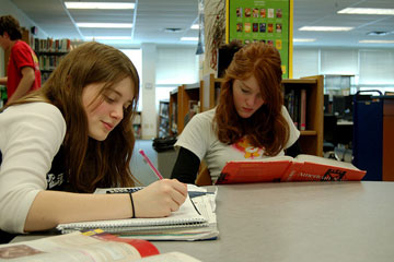 Students study together - something that is becoming more expensive with the rising living costs