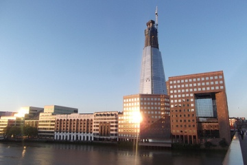 London Shard about to break two records